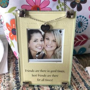 Best friend picture frame 🆕 listing